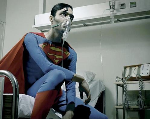 sick super man