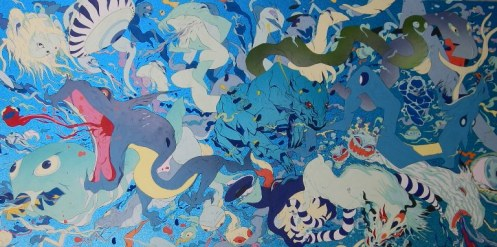 7-yoshitaka-amano-c-deva-loka-bleu2